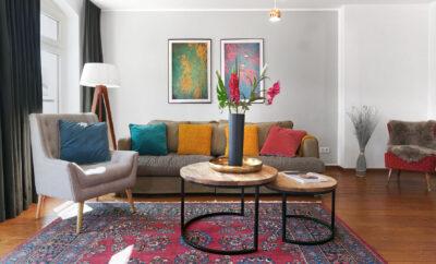 Bright 2 bedroom apartment in Berlin Mitte